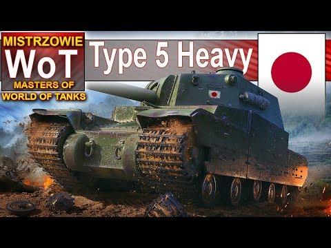 Type 5 Heavy - 21 000 odbitych obrażeń - Mistrzowie World of Tanks