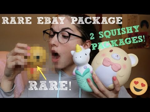 RARE EBAY PACKAGE! 2 SQUISHY PACKAGES - YouTube