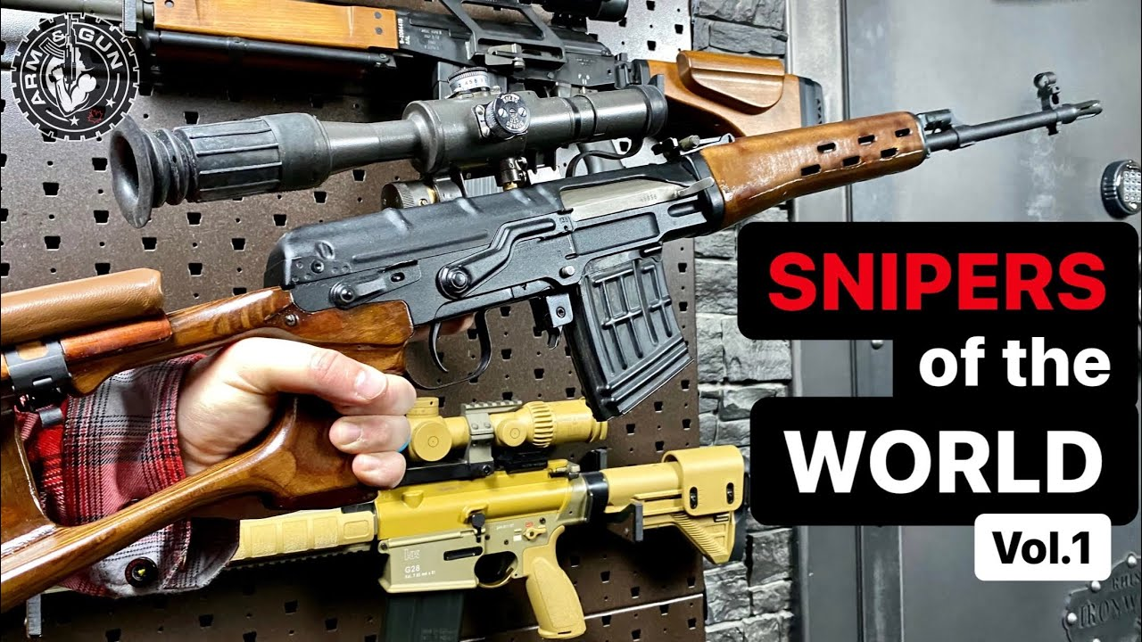 Sniper Rifles of the World vol.1