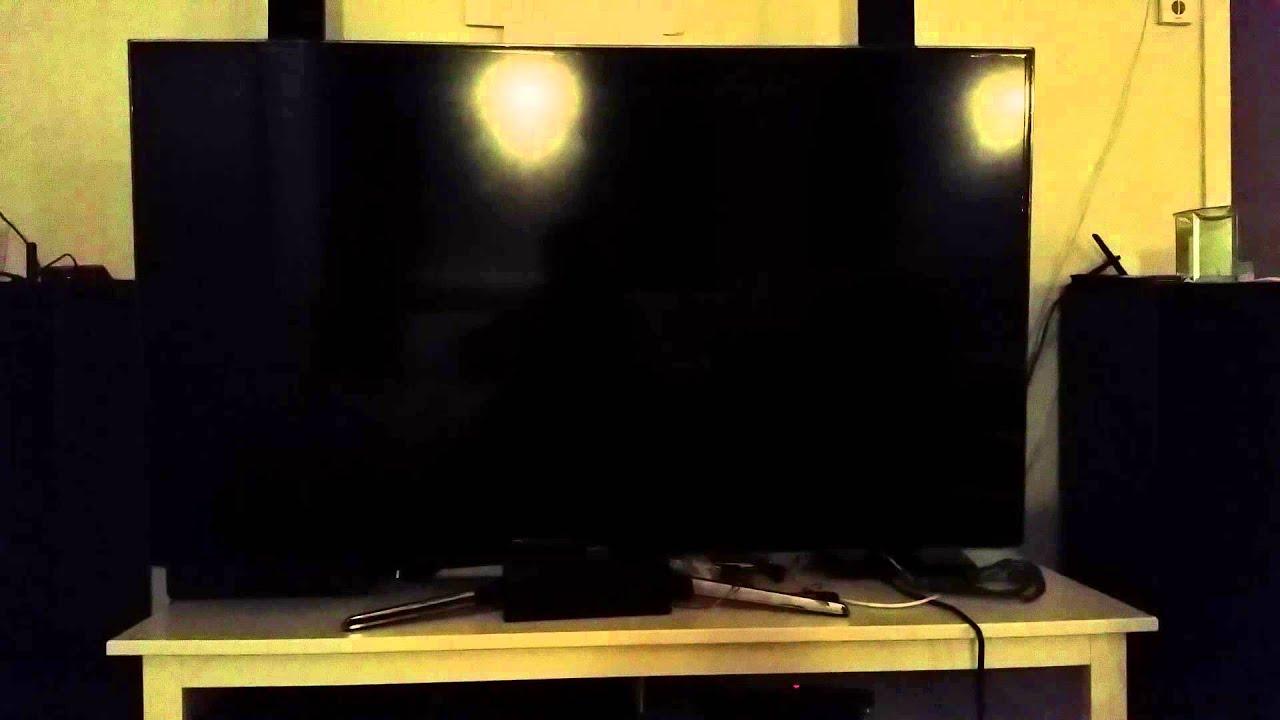 Samsung LED TV restarts itself constantly