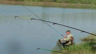 НАКОНЕЦ ТО ДОЖДАЛСЯ РЕКА ОЖИЛА Рыбалка Ловля Крупного Карася и Леща на фидер и донки