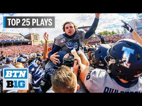Illinois Football: The Top 25 Plays of 2019 | Big Ten Football