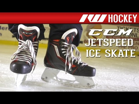 57babddf44d CCM JetSpeed Skate On-Ice Review - YouTube