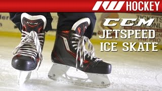 CCM JetSpeed Skate On-Ice Review