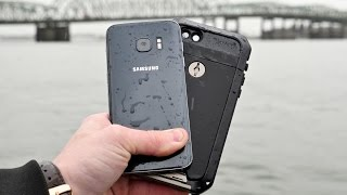 Samsung Galaxy S7 DEEP Water Test - Can S7 Survive 35 Feet?