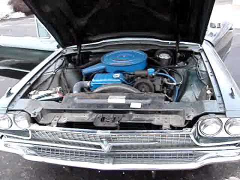 1966 Ford Thunderbird - 309 Engine Running