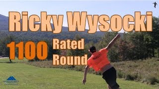the disc golf guy vlog 342 ricky wysocki of latitude 64 shoots 1100 rated round