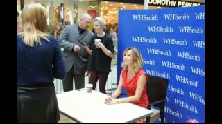 X-Factor Star Amanda Holden visits Derby for WH Smith Book Signing