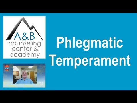 Phlegmatic Temperament