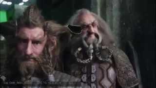 Hobbit. Bilbo żegna się z krasnoludami (B5A Extended Edition/Behind the Scenes)