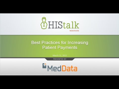 Best Practices For Increasing Patient Payments