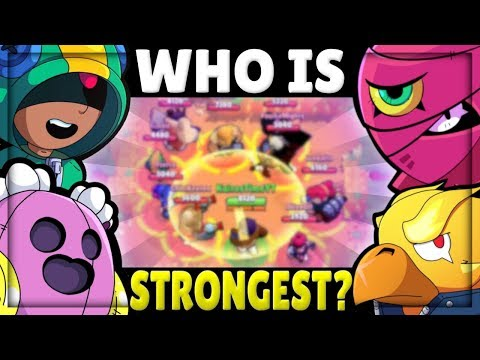 Brawl Stars OLYMPICS! | Which Brawler is Strongest?! | Every Stat Compared!