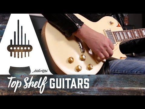 Gibson Custom Shop 2017 Les Paul in Classic White Over Sunburst Serial N0 87689