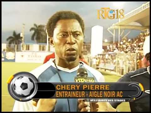 Haiti / Sport.- 1/16 de finale coupe de la présidence / Don Bosco Vs Aigle noir: 1-0