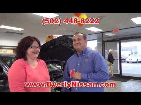 Neil Huffman Clarksville - Patty Logsdon of New Albany IN winner of $50 Target Gift Card at Byerly Nissan