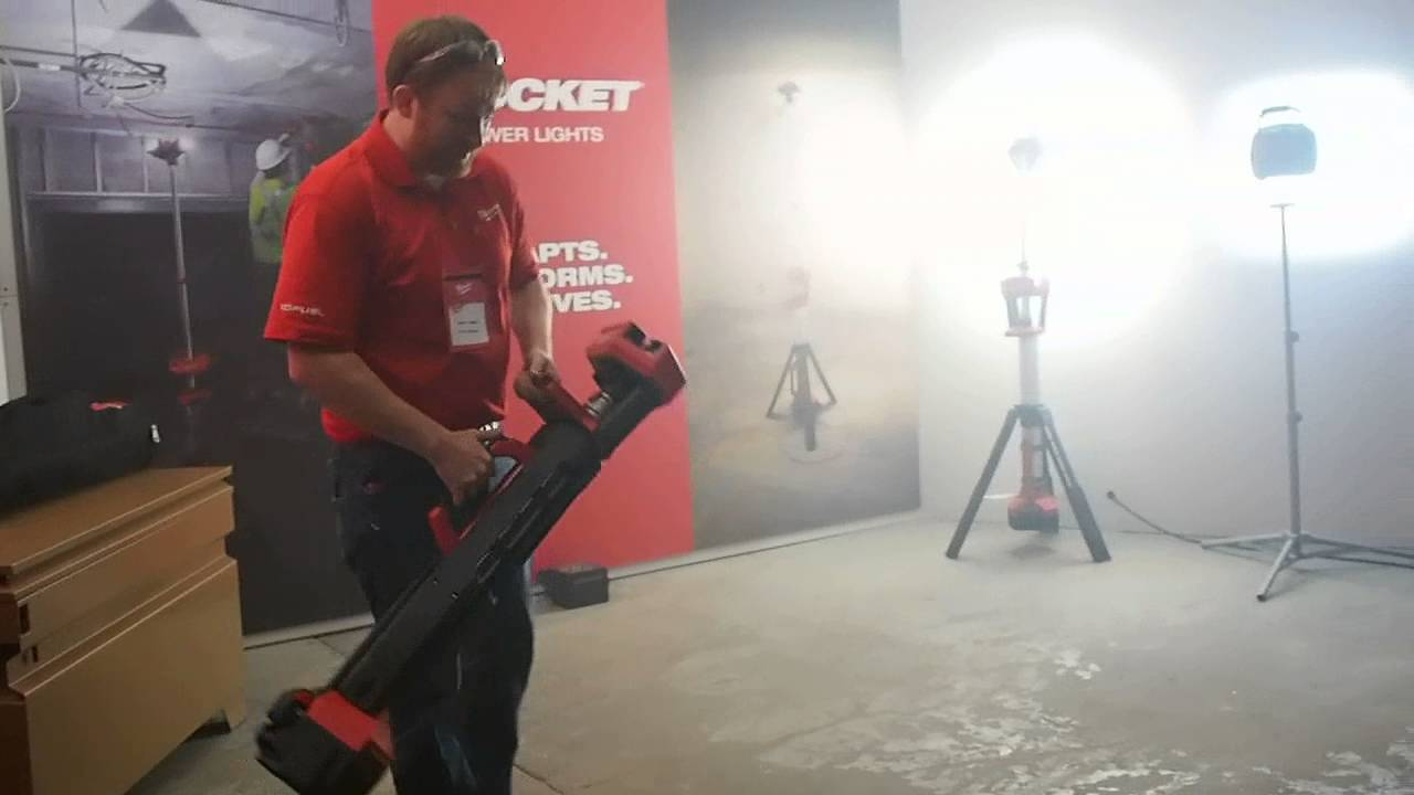 Milwaukee Tool Rocket Tower Light Youtube