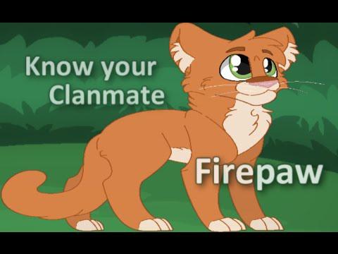 Warrior Cats Project Firepaw