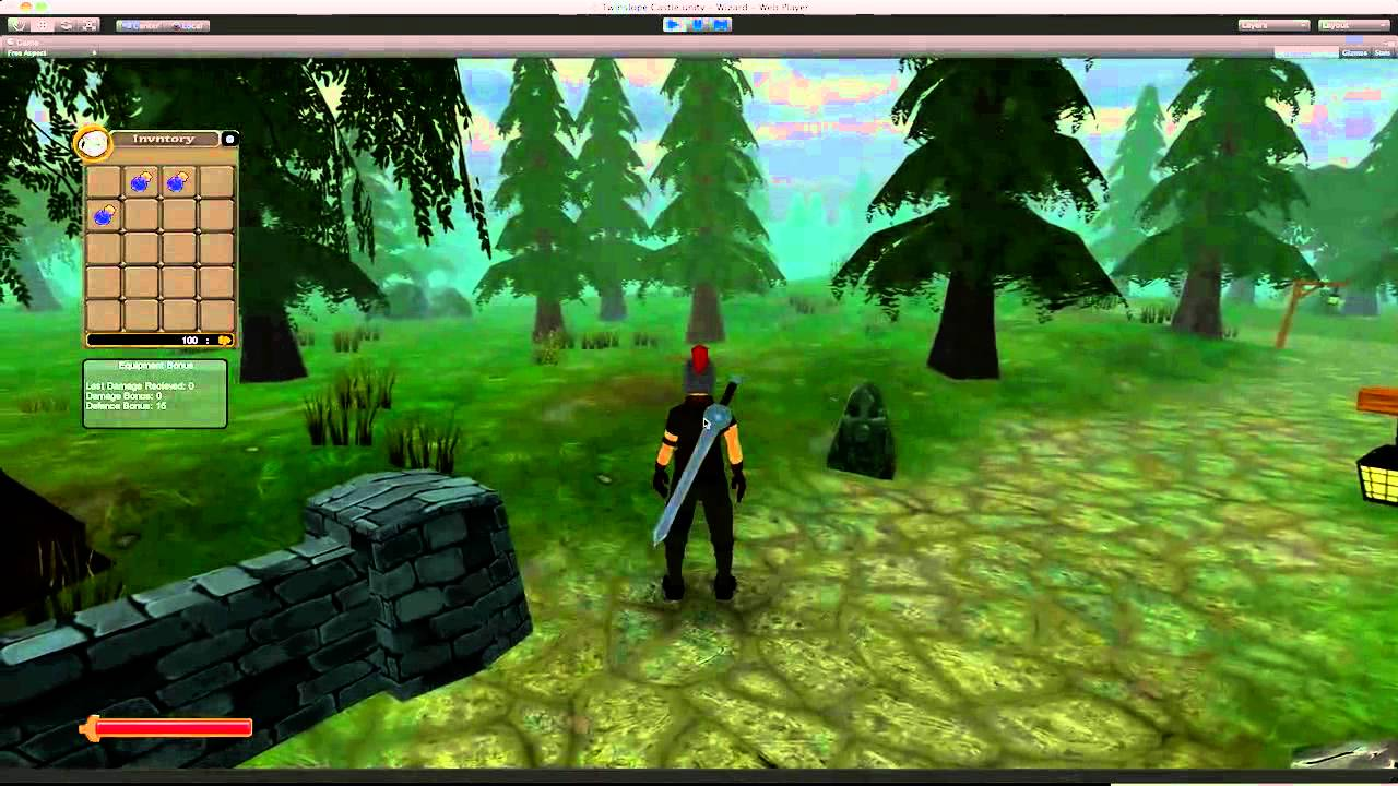 Unity 3D RPG - Project Calamity : Update 7 - Gameplay