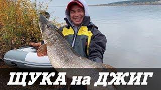 ЩУКА МОНСТР Ловля крупной щуки и судака осенью на Каме Камский джиг 2019 Kamfish