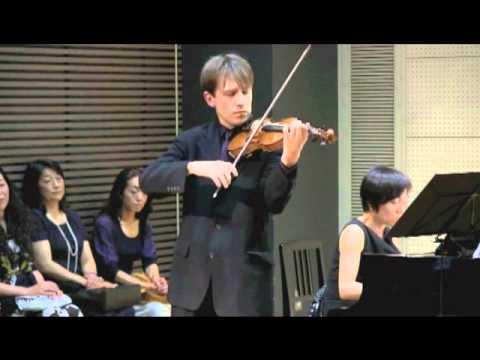 Albeniz/Kreisler Tango - Daniel Bell, violin and Akemi Masuko, piano