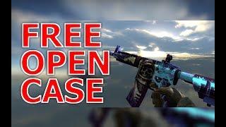 CS:GO - FREE OPEN CASE (NO DEPOSIT) +21 BONUS SITE