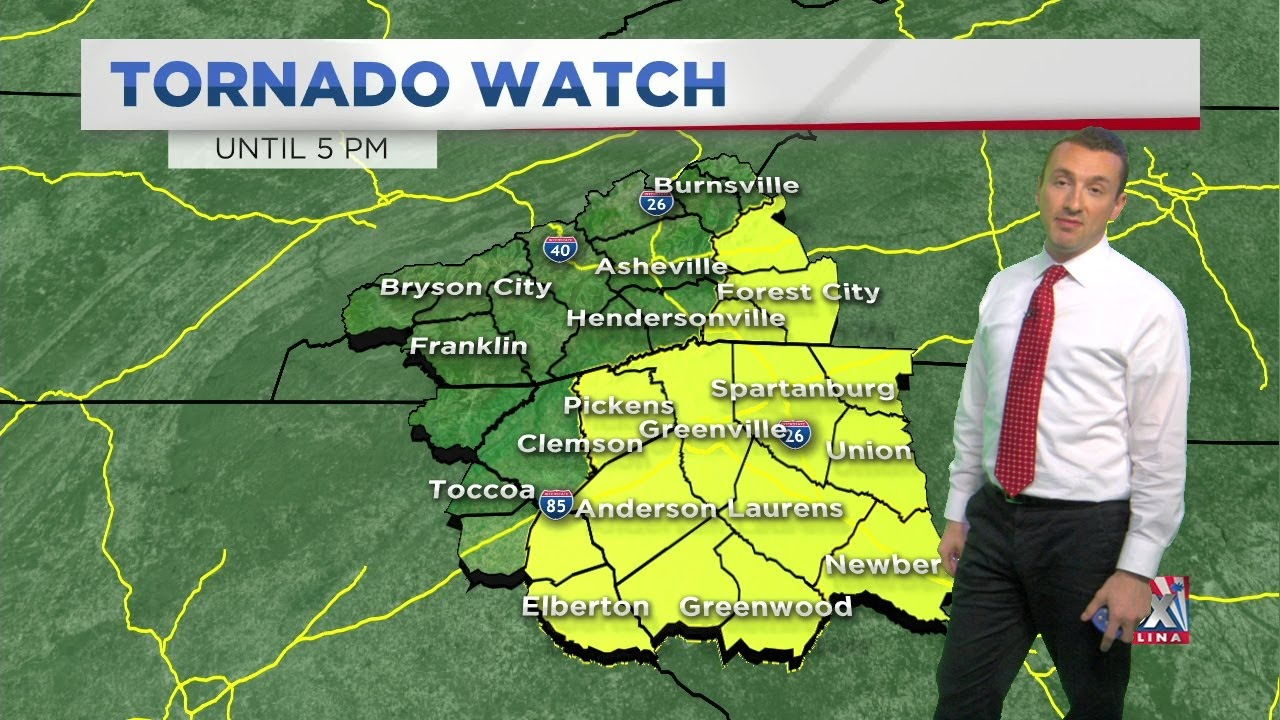 Tornado warnings for Upstate counties expired, still watching for ...