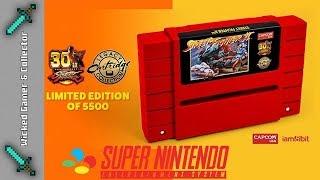 30th Anniversary Street Fighter 2 / Super Nintendo / SNES / Legacy Cardridge Retro Game Review
