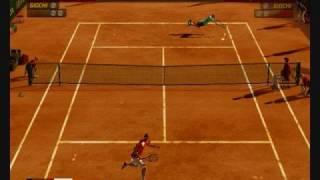 Virtua Tennis 3 (PC) - David Nalbandiàn vs Lleyton Hewitt