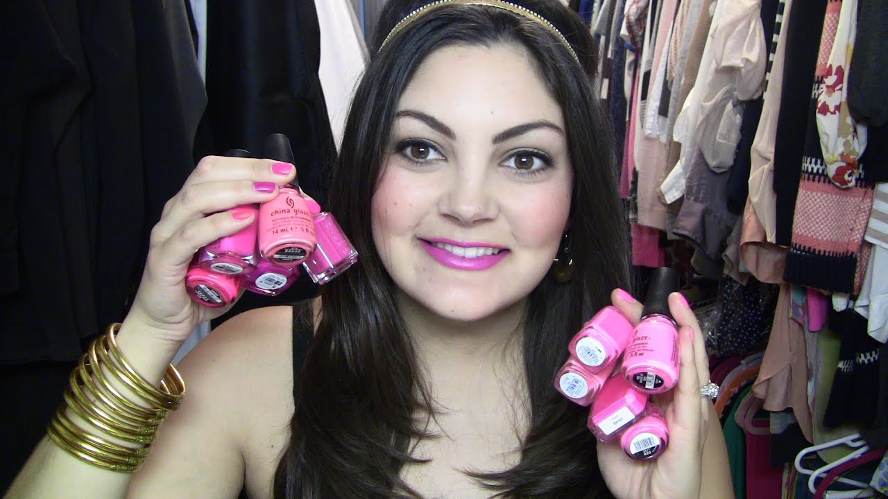 Essie Pink Parka DUPE & Battle of the Neon Pink Nail Polishes! - YouTube