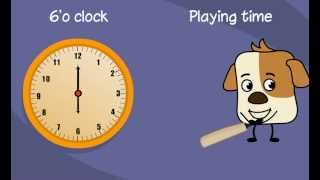 Clock Reading - Learn To Tell Time