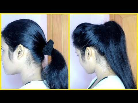 download How To Make Voluminous ponytail In 2 Minutes