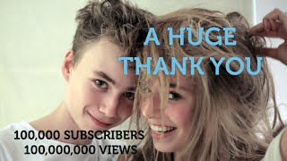 A HUGE THANK YOU