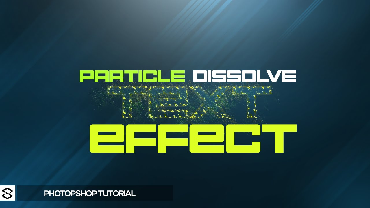 how to create a dissolve effect in photoshop
