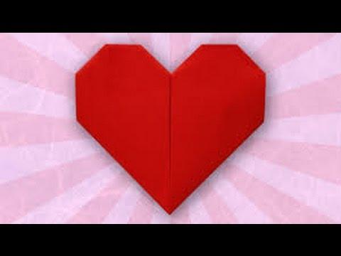 Origami Kalp Yapımı