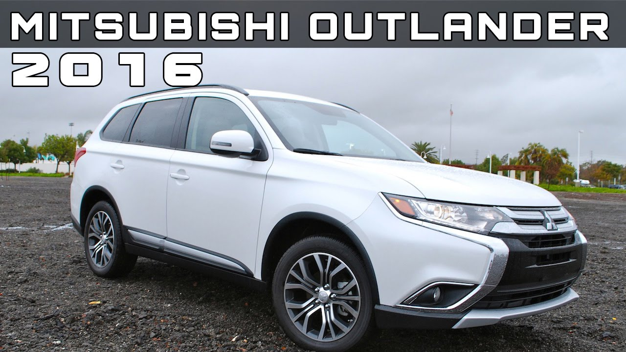 2016 Mitsubishi Outlander Review Rendered Price Specs Release Date