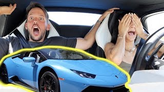 LETTING MY GIRLFRIEND DRIVE MY LAMBORGHINI!!