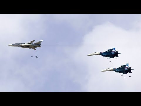 RAW Russian Fighter Jet under fire flying mission over idlib Syria Breaking News May 2019
