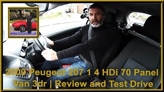 2009 Peugeot 207 1 4 HDi 70 Panel Van 3dr | Review and Test Drive