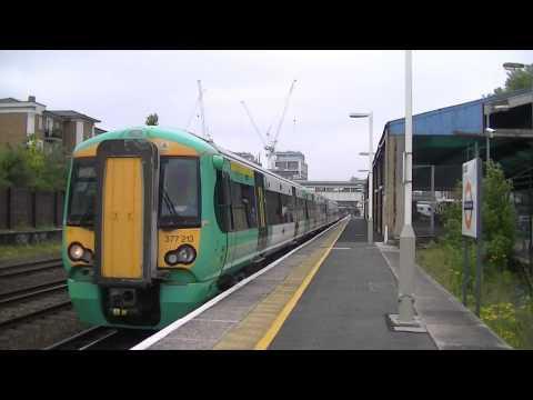 Trains at Kensington Olympia 31/05/13