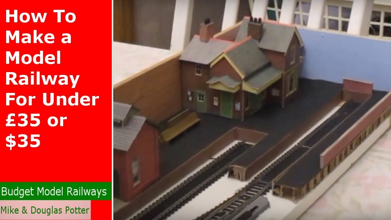 How To Make A Model Railway For Under 35 Youtube Train Mountain Scenery Also Wiring Diagrams On Dcc