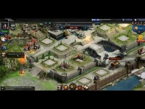 Clash Of Kings - Facebook Gameplay