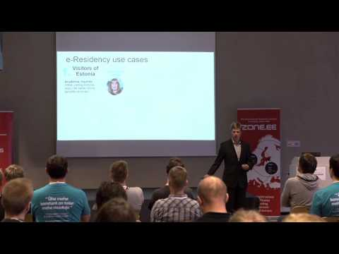 Keynote: Estonian e-Residency - Kaspar Korjus