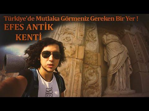 Türkiye'de Mutlaka Görmeniz Gereken Bir Yer ! Efes Antik Kenti- Vlog 1