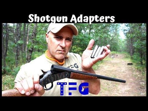 Shotgun Adapters (Have More Fun with Your Shotgun