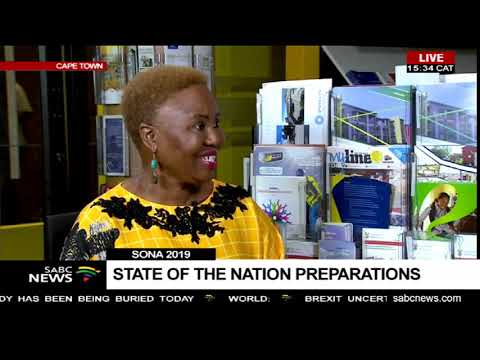 Lindiwe Zulu on #SONA2019 fashion and supporting local businesses