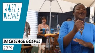 Backstage gospel - Jazz à Vienne 2019