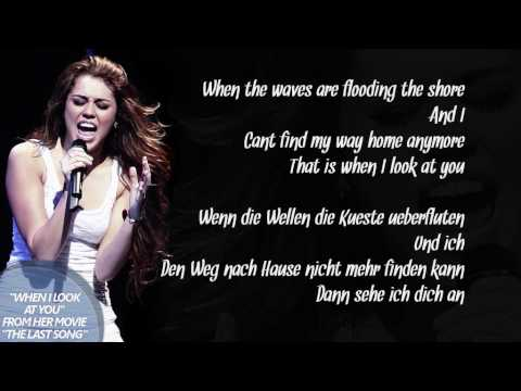 Cyrus song i when look you miley download at
