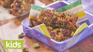 Rainbow Muesli Bar Recipe