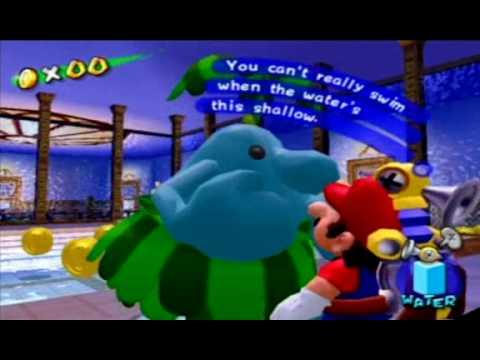 Super Mario Sunshine Pianta Death Glitch Youtube