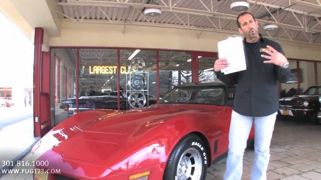1982 Chevrolet Corvette Stingray for sale with test drive driving